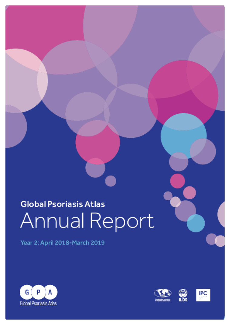 global psoriasis atlas annual report april 2018 march 2019