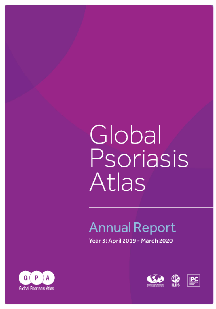 GLOBAL PSORIASIS ATLAS:  ANNUAL REPORT  APRIL 2019 - MARCH 2020